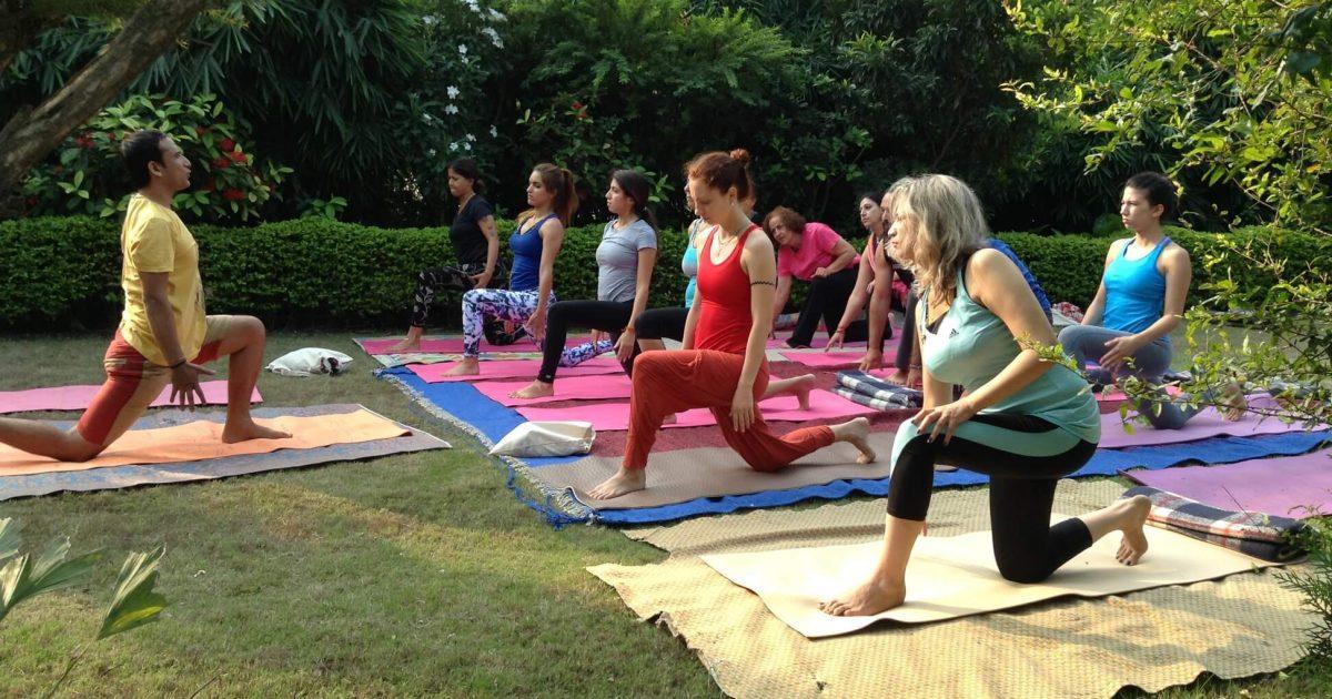 Traditional yoga practice