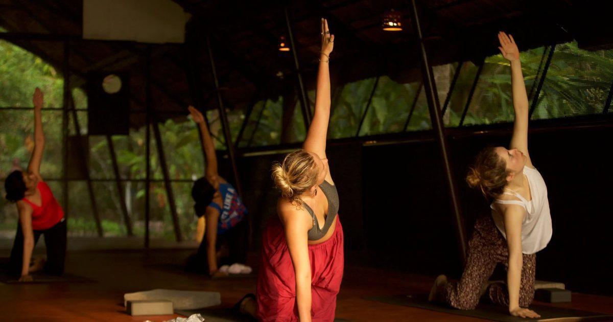 Combine yoga and ayurveda