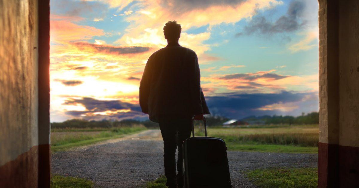 Set off for a spiritual journey