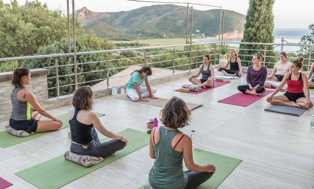 Mahakala center terrace yoga