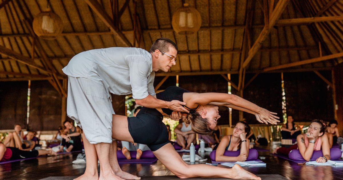 Experienced yoga teachers