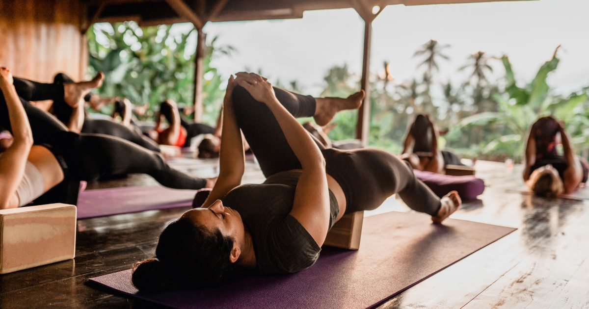 Yoga in the Balinese jungle